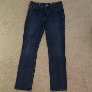 NYDJ Medium Wash Skinny Jeans EUC 6